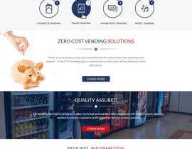 Nro 12 kilpailuun Design a responsive wordpress Mockup for FB Vending käyttäjältä lacrymosh