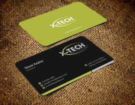 #49 for Develop a Corporate Identity for X-TechNetwork.com (Logo, Business Card & Letterhead) af ezesol