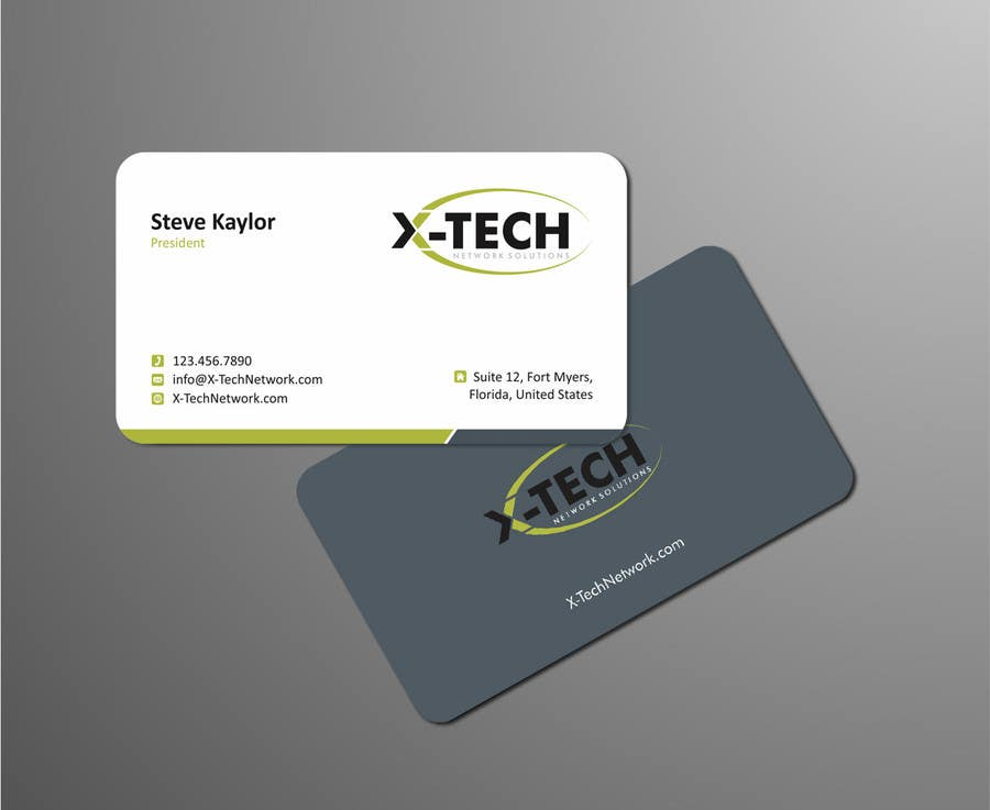 #50 for Develop a Corporate Identity for X-TechNetwork.com (Logo, Business Card & Letterhead) by ezesol