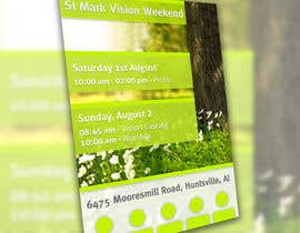 #10 cho Design a Flyer for Vision Weekend bởi Tommy50