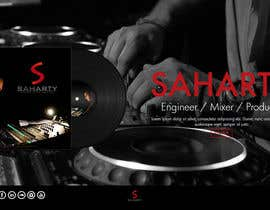 janakgfxdesign tarafından Build a Website for Sound Engineer/Mixer/Producer için no 9