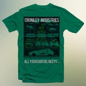 #35 untuk Design a T-Shirt for Crumley Industries oleh Se7enTech