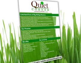 #3 para Design a Flyer for Quiet Corner Landscapers LLC por Tommy50