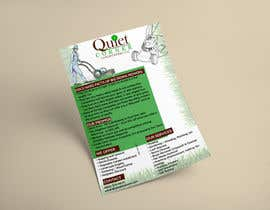 #1 para Design a Flyer for Quiet Corner Landscapers LLC por ghani1