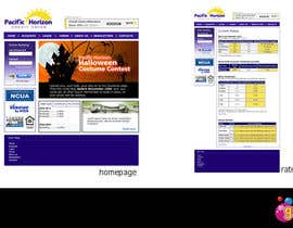 #2 untuk Website Design for Pacific Horizon Credit Union oleh Mako30