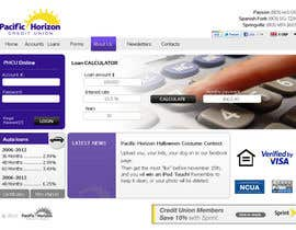 #52 untuk Website Design for Pacific Horizon Credit Union oleh darila