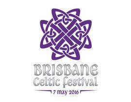 #75 untuk Brisbane Celtic Festival logo design oleh Balnyo