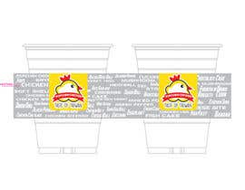 #3 untuk Design a drinking cup design for our restaurant oleh mmkrish