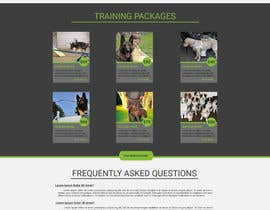 #18 para Urgent design for Dog trainer website por lumerbgraphics