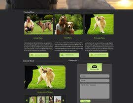 #21 para Urgent design for Dog trainer website por harisramzan11