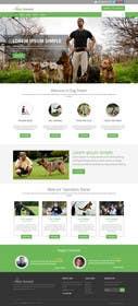 Nro 7 kilpailuun Urgent design for Dog trainer website käyttäjältä ankisethiya
