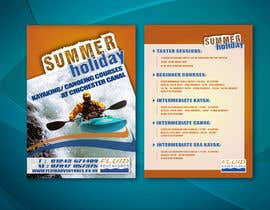 nº 16 pour Design a flyer for Summer Holiday Kayaking Courses par wilpx2