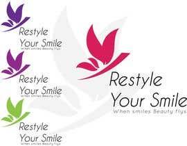 """#44 untuk Ontwerp een Logo for """"RESTYLE YOUR SMILE"""" oleh vivekdaneapen"""