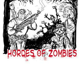 #19 for Design & Illustration - 2D Zombie Game Main Screen af Dalibor021