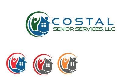 Nro 71 kilpailuun Design a Logo for Coastal Senior Services, LLC käyttäjältä adityapathania