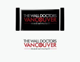 #8 untuk Design a Logo for Van Media Install - The Wall Doctors oleh DianPalupi