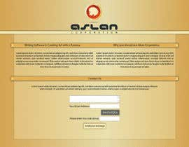 nº 27 pour Graphic Design for Aslan Corporation par KCale