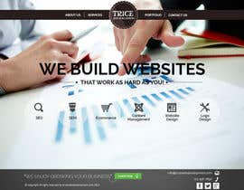 #23 para Design a Website Mockup for Trice Web Development por thecwstudio