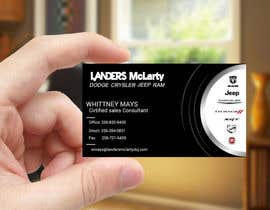 #46 untuk Design some Business Cards for Auto Dealership oleh sanratul001