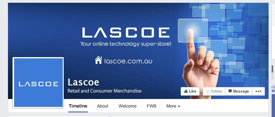 Design a Facebook Banner for a corporate page | Freelancer