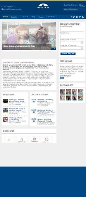 Bài tham dự cuộc thi #5 cho create 3 html pages