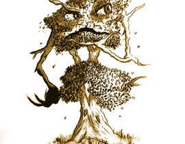 #6 for Pen and ink tree character af massiive3d