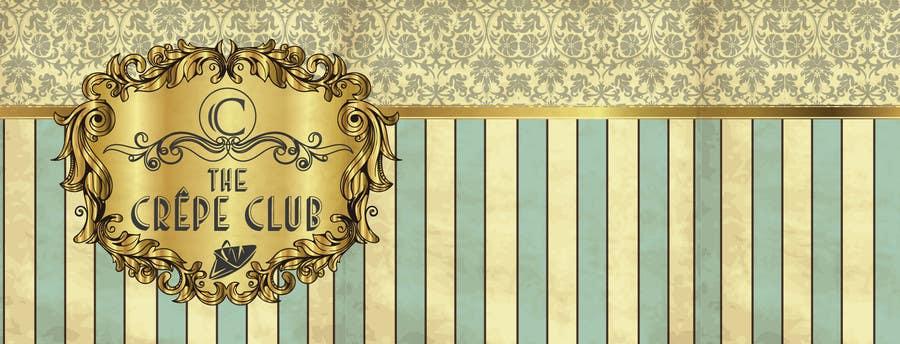 Inscrição nº 65 do Concurso para Design a Logo for The Crêpe Club + cart design
