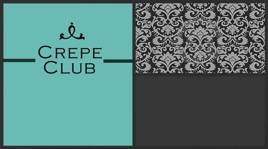Inscrição nº 9 do Concurso para Design a Logo for The Crêpe Club + cart design
