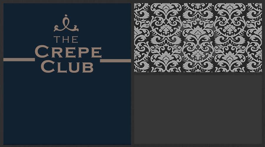 Inscrição nº 10 do Concurso para Design a Logo for The Crêpe Club + cart design