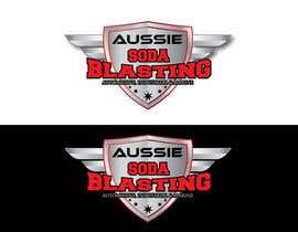 #50 untuk Design a Logo for 'Aussie Soda Blasting' oleh ASHERZZ