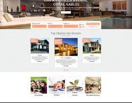 Nro 29 kilpailuun new website screendesign for real estate company käyttäjältä bellalbellal25