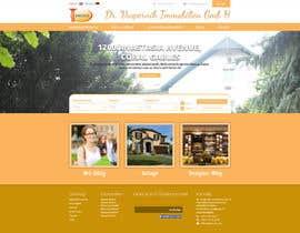 #62 untuk new website screendesign for real estate company oleh bellalbellal25