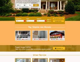 #59 for new website screendesign for real estate company by Evgeniya82