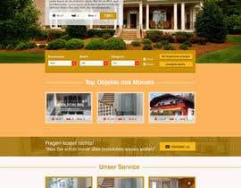 #59 untuk new website screendesign for real estate company oleh Evgeniya82