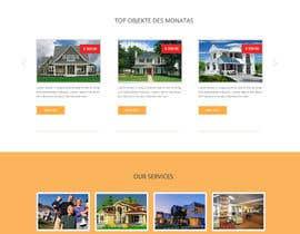 #54 untuk new website screendesign for real estate company oleh webmastersud