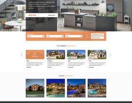 #56 untuk new website screendesign for real estate company oleh superock
