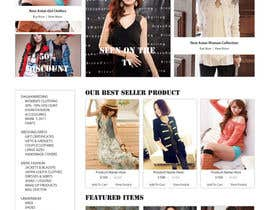 #46 para Website Design for VIVI Clothes por dragnoir