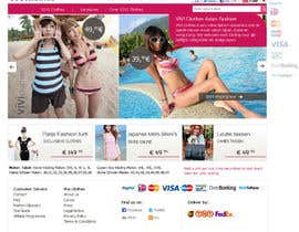 nº 57 pour Website Design for VIVI Clothes par darila