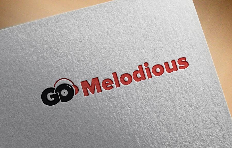 Kilpailutyö #4 kilpailussa Design a Logo for GoMelodious