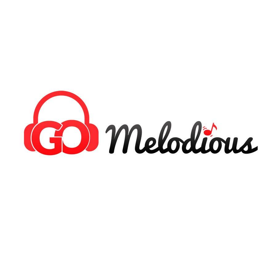 Kilpailutyö #47 kilpailussa Design a Logo for GoMelodious