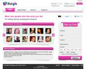 Graphic Design for a dating website homepage için Graphic Design19 No.lu Yarışma Girdisi