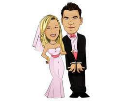 Victorzam tarafından Cartoon wedding couple için no 15