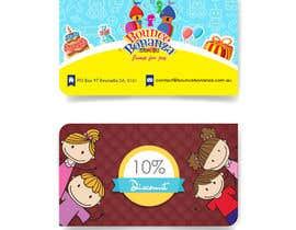#45 para Design some Business Cards for Bounce Bonanza por timimalik
