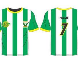 #10 para Design a soccer Jersey por erwantonggalek