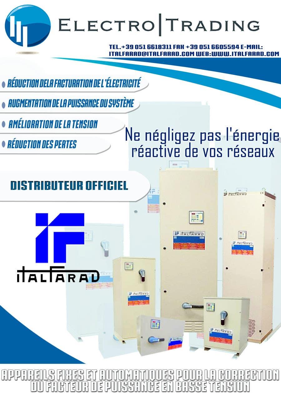 #39 for Concevez un flyer for ELECTRO TRADING - ITALFARAD by jatacs