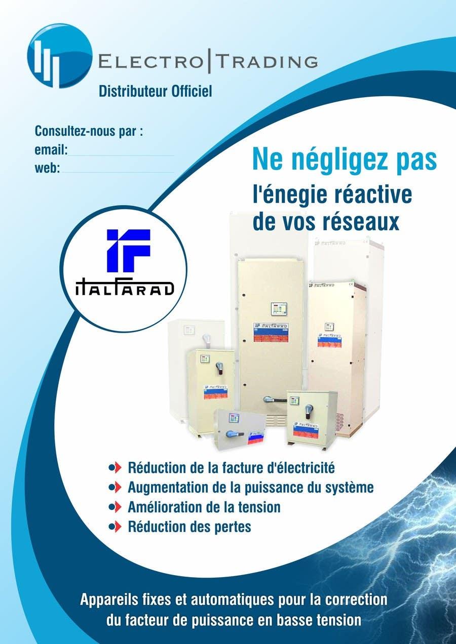 #45 for Concevez un flyer for ELECTRO TRADING - ITALFARAD by ezesol