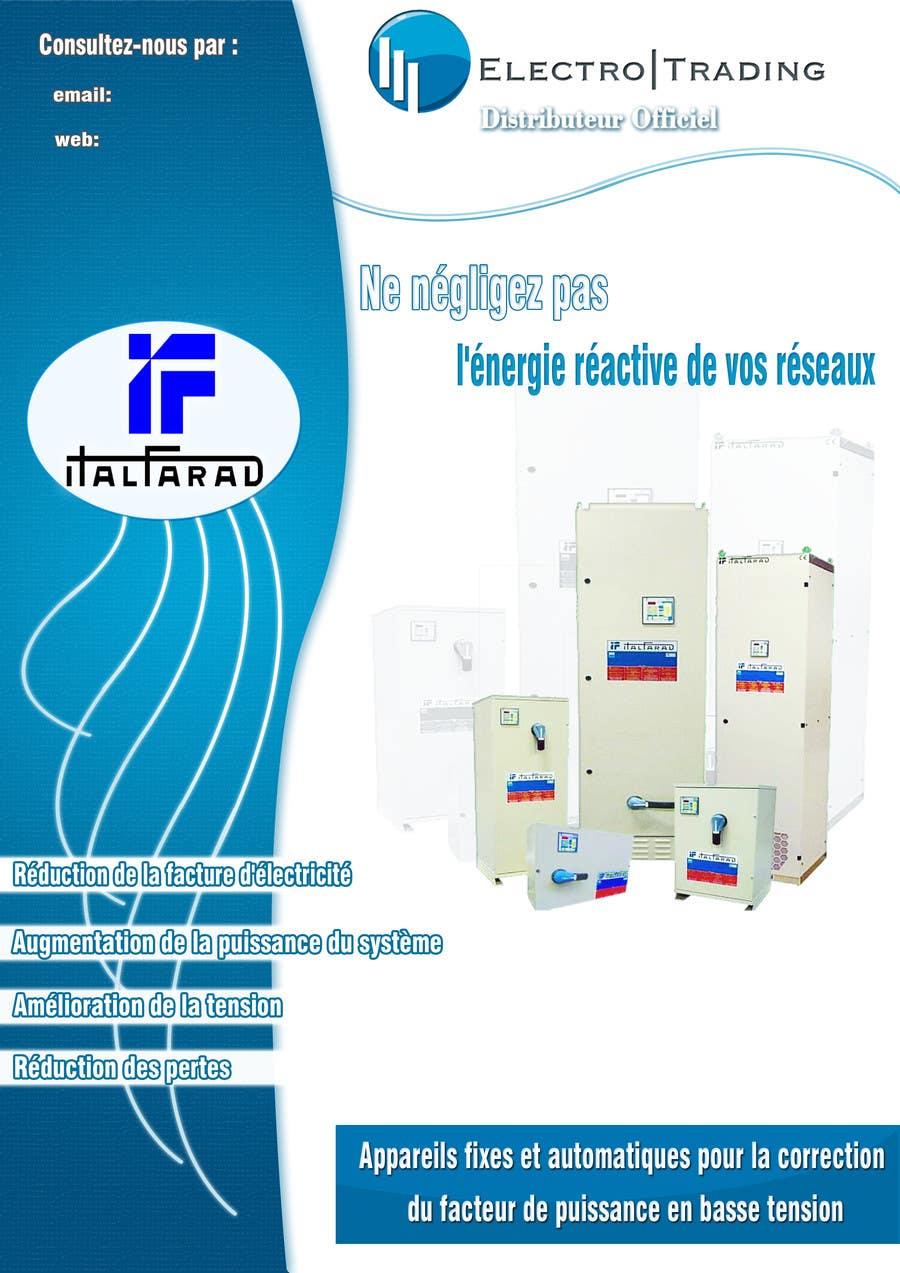 #26 for Concevez un flyer for ELECTRO TRADING - ITALFARAD by nerburish
