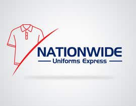 #77 para Design a Logo for Nationwide Uniforms Express por designblast001