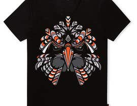 #19 for Design an Animal for a Black T-Shirt af mohinimenon