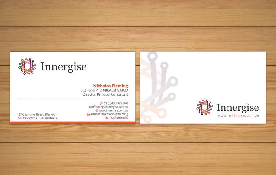 Entry 220 by smshahinhossen for design business cards for innergise contest entry 220 for design business cards for innergise reheart Choice Image